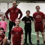 Eric Gehrig with Ajax Boys